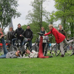des artistes au Vondelpark !
