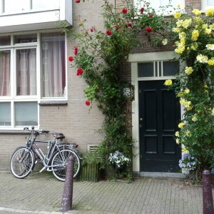 Une des nombreuses façades fleuries !
